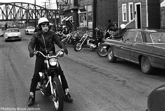 Buffalo Police Then and Now - Road Vultures Motorcycle Club